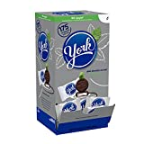 YORK Peppermint Patties Dark Chocolate Covered Mint Candy, Halloween Candy, 175 Pieces, 5.25 Pound