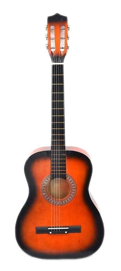Guitarra de 53,3 cm, 6 cuerdas, para niños, adultos, estudiantes ...