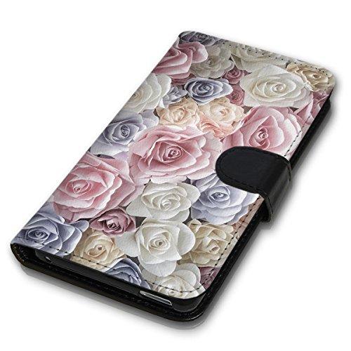 Wallet Book Style Flip Handy Tasche Case Schutz Hülle Schale Motiv Etui für Apple iPhone 4 / 4S - Design Flip MVD136