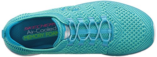 Skechers Sport Delle Donne Galaxies Fashion Sneaker Blu / Verde