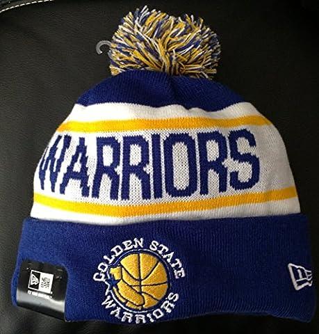 NBA Golden State Warriors New Era Biggest Fan Redux Knit Beanie, One Size, Blue