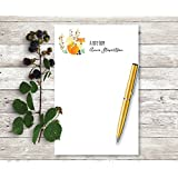 WOODLAND FOX Personalized Notepad