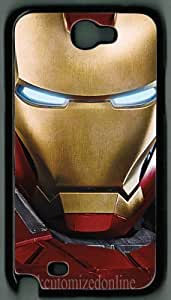 Pink Ladoo? Samsung Galaxy Note 2 N7100 hard case Iron Man theme Protective Back Cover 015 By cutomizedonline