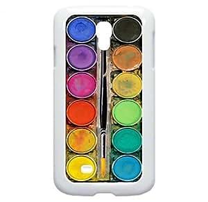 Art/Paint Box- Case for the Galaxy S4 i9500 -Hard White Plastic Case wangjiang maoyi by lolosakes