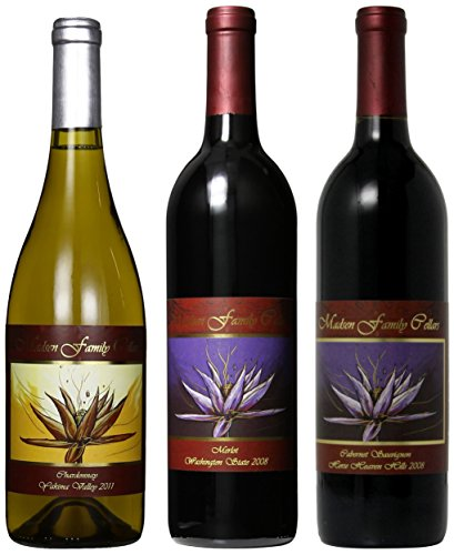 "Madsen Family Cellars ""Washington's Best"" Wine Mixed Pack, 3 x 750 mL"