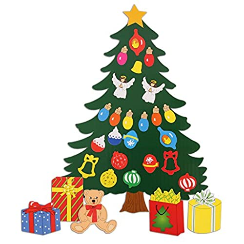 christmas decoration animated tree magnet set perfect for winter decorations fridge metal door garage classroom give as gift ornament dcor