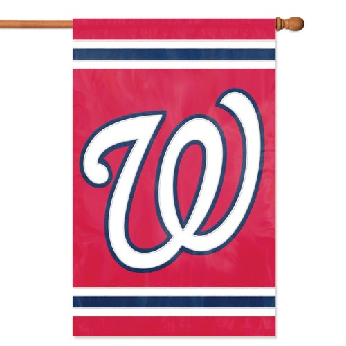 USA Wholesaler - PAR-AFNAT - Washington Nationals MLB Applique Banner Flag