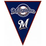 Milwaukee Brewers Baseball - Pennant Banner Party Accessory