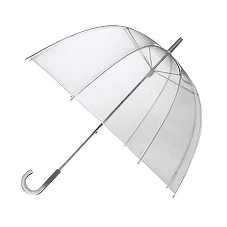 Paraguas, Parasol, Clear Bubble transparente cúpula de la seta Princesa PE paraguas para el