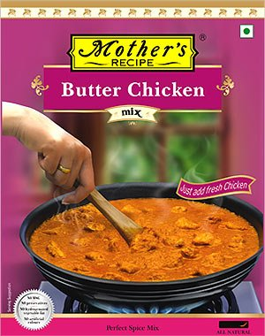 Amazon mothers recipe spice mix for butter chicken masala mothers recipe spice mix for butter chicken masala 100 gms 3 pack forumfinder Images