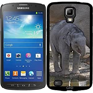 Funda para Samsung Galaxy S4 Active i9295 - Elefante Bebe by More colors in life