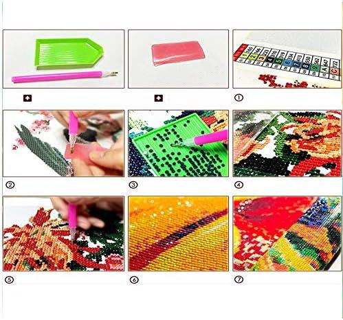 YKCKSD Mother Lover Figure Painting DIY Digital 5D Diamond Painting Moderna Wall Art Picture Kit Acrilico Paint Arts Senza Telaio 40X50CM