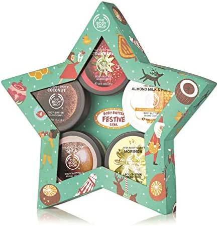 The Body Shop Body Butter Gift Set, Includes 5 of Our Signature Body Butters, All Enriched With Community Trade Shea Butter, 5Piece