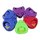 BQLZR Colorful Plactic Guitar Picks Holder Pack of 6