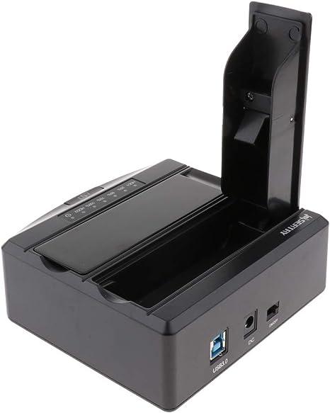 Almencla Estación De Acoplamiento De Disco Duro SATA USB 3.0 SSD ...