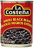La Costena Beans, Whole Black, 19.75-Ounce (Pack of 12)