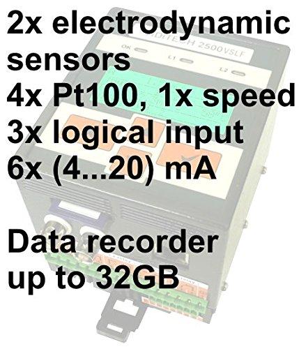 diagnostic instruments ViDiTech 2500AP DIN rail mounting online securing