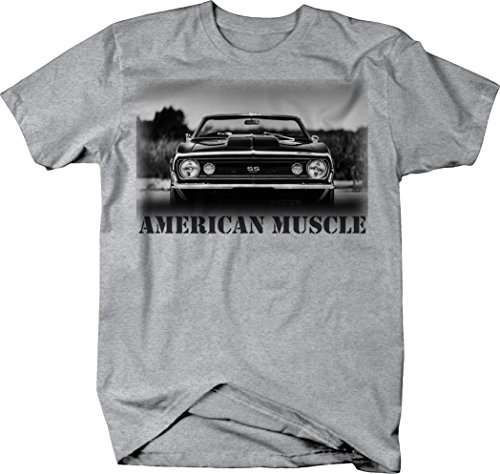 OS Gear American Muscle Chevy Camaro SS 350 Convertible Muscle Car Tshirt - Large