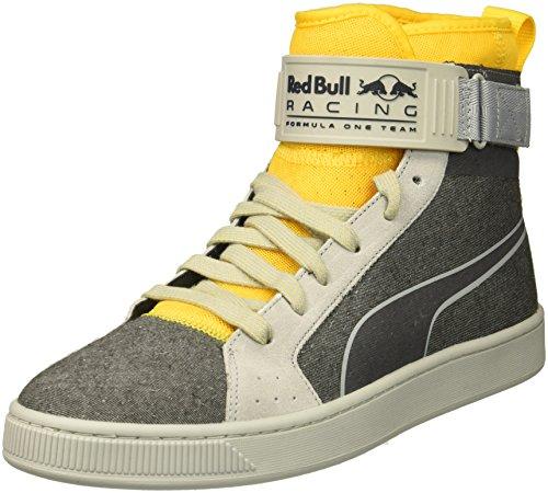 Puma Mens Rbr Tasses Mid Sneaker Haute Élévation-spectres Jaune