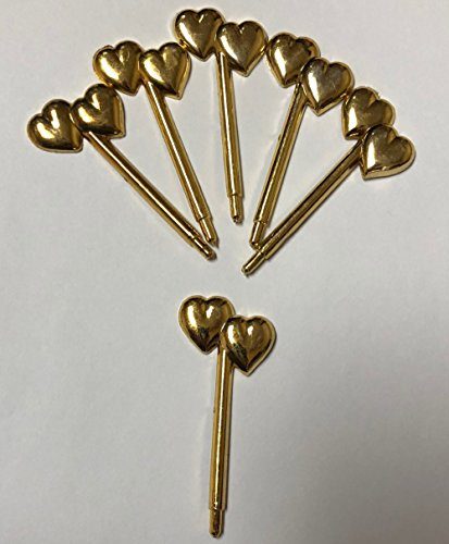 Buy double heart charm accents