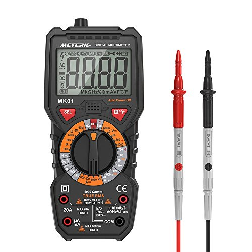 Meterk Digital Multimeter Multi Tester Only $14.82