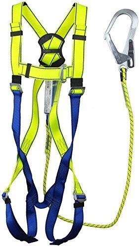 G-Force P10 Scaffolders Full Body Height Safety Fall Arrest Harness Set M-XL SafetyLiftinGear