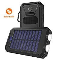 Solar Charger, STOON 10000mAh Portable S...