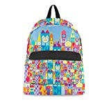 Its A Small World Disney Parks Inspired Backpack All-Over-Print