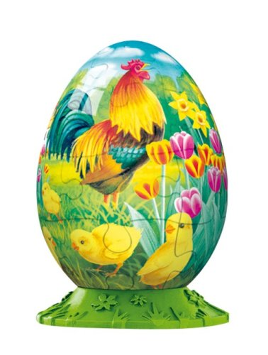 Rooster Easter Egg Puzzleball - Ball Puzzle Ravensburger