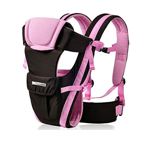 Pink Baby Carrier Multifunction Cotton Backpacks Baby Sling Wrap Toddler Boys Chicco Shoulder Front Carriers Pink Blue 0-30M 20Kg