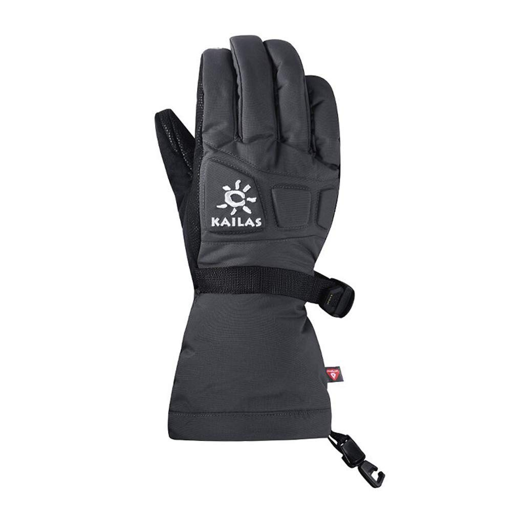 HU Winterhandschuhe Skifahren Bergsteigen Outdoor-Sportarten Winddichte warme Handschuhe