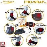 TherMedic 家庭用温熱治療器 (遠赤外線 / 赤外線日本製炭素繊維織物 /かた、こし、筋肉痛) PW140L