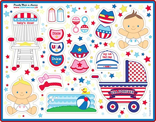 USA Forever All-American Family Magnetic Play Sets & Puzzles Collection by USA Forever (Image #5)
