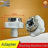 15 16 faucet adapter - Star-Shopinc - 5Pcs Automatic Washing Machine Water Inlet Adapter Washing Machine Faucet Original Washing Machine Spares