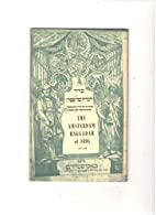 The Amsterdam Haggadah of 1695 by Tovia…