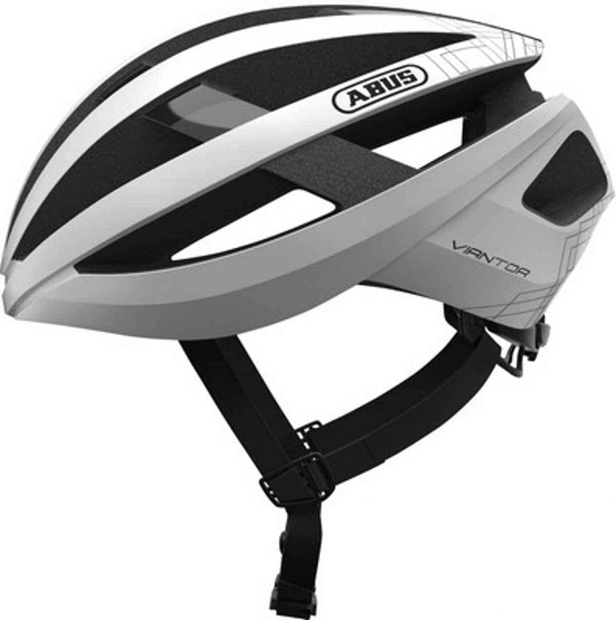 ABUS Viantor - Casco para Bicicleta, S, Blanco Polar: Amazon.es ...