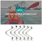 Lixada 6pcs Kayak Paddle Spring Clips Tent Pole