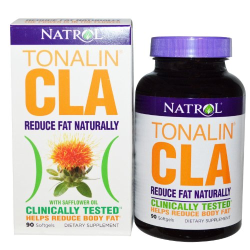 NATROL TONALIN CLA 180 SOFTGELS (2 PACKS OF 90 SOFTGELS TOTAL OF 180 SOFTGELS)