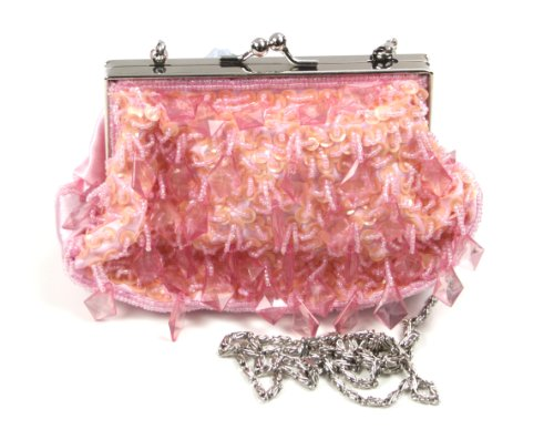 Marilyn's Pink Beaded Evening Bag