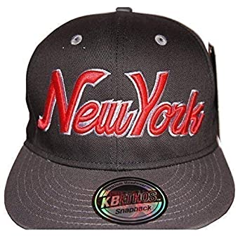 1e7eae84b KB Ethos new york snapback caps, retro vintage flat peak hat, ny fitted hip  hop bling unisex Baseball cap
