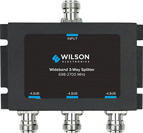(Wilson Electronics -4.8 dB 3-Way Splitter, N-Female (50 Ohm))