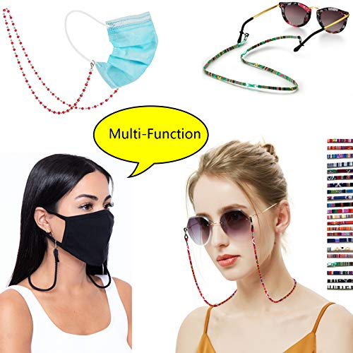 EFNAWA Fashion Mask Glasses Lanyard Unisex Mask Straps