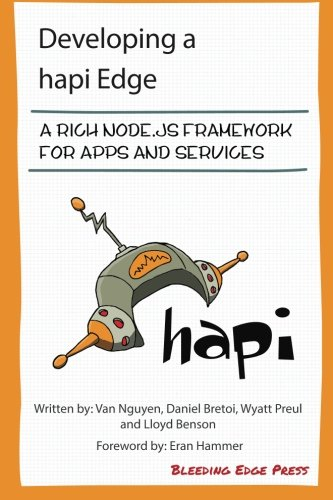 Developing  a hapi Edge: A rich Node.js framework for apps and services