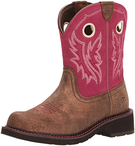 Ariat Women's Fatbaby Heritage Cowgirl Western Boot, Metallic