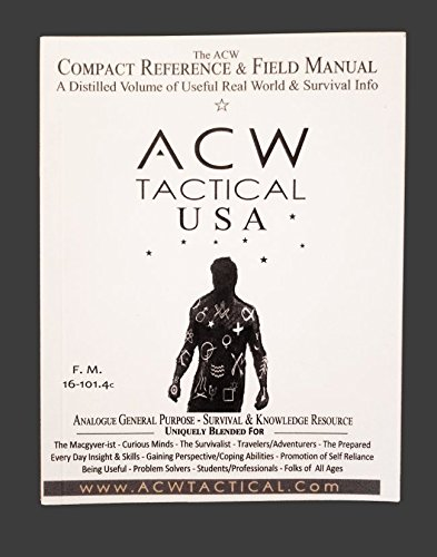 ACW Compact Reference & Field Guide Survival Guide (Best Outdoor Survival Guide)