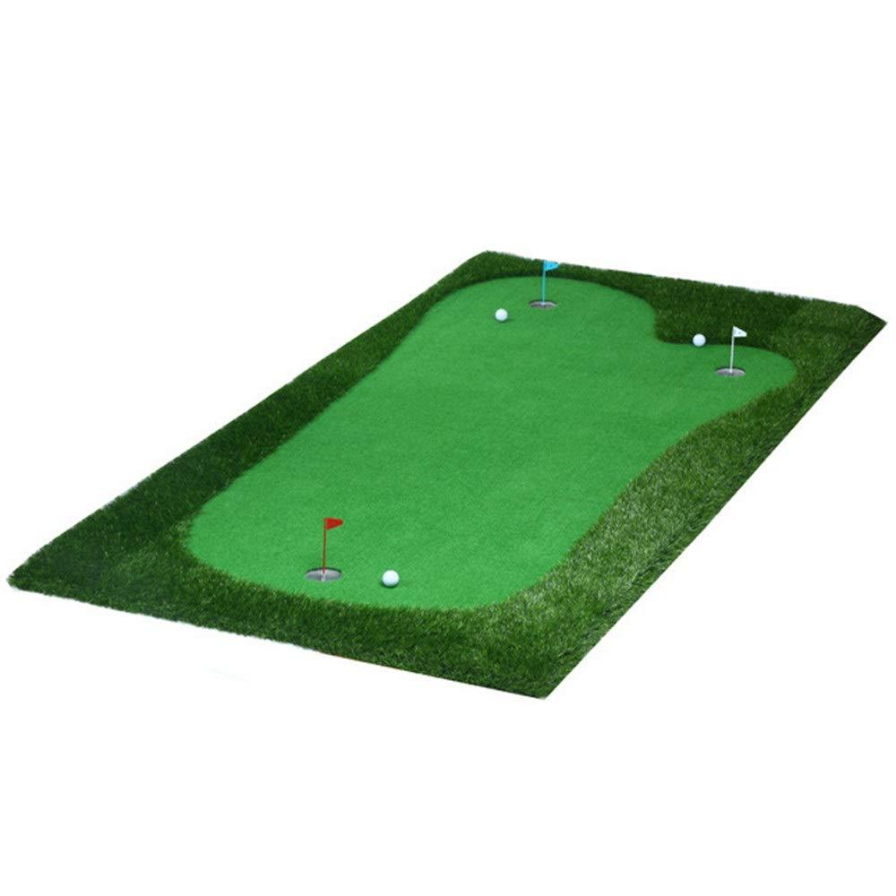 パター練習用マット ゴルフパッティンググリーンシステムプロフェッショナル人工ポータブルグリーンミニ屋内パターエクササイザー環境オークバレーグリーン 裏面滑り止め (色 : Project, サイズ : 1.5*3m) Project 1.5*3m