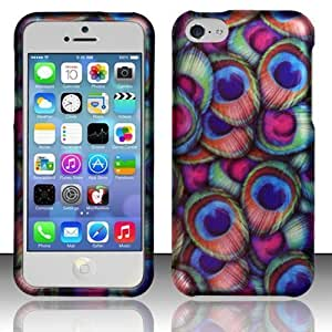 iphone 5c cases amazon iphone 5c rubberized design cover peacock 14645