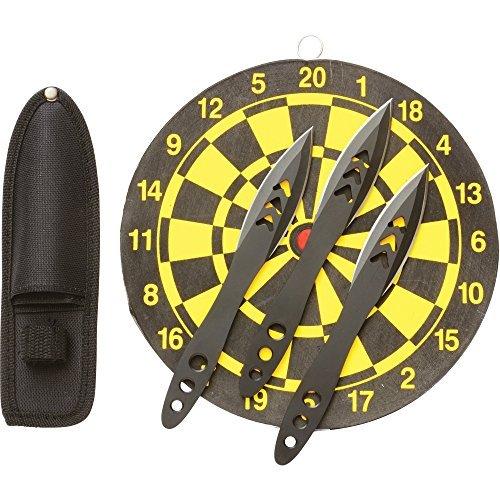 - Rampant SKTHRDTSM 4 Piece Knife Throwing Set