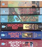 img - for New Uplift Trilogy by David Brin: Brightness Reef , Infinity's Shore, Heaven's Reach (The New Uplift Trilogy) book / textbook / text book