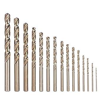 Metallbohrer HSS G DIN 1869 2,0-13,0mm Metallbohrer extra lang 2 mm Gesamtl/änge 125mm
